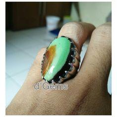 Batu Garut Tosca / multi color jasper Indonesia gemstone