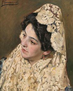 A Spanish Beauty John Bagnold Burgess - 1875
