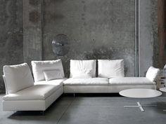 Sectional modular sofa LIMES by Saba Italia design Sergio Bicego