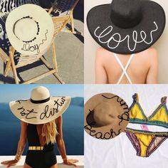 Chapéu de Praia Personalizado – Sonhos na Mochila