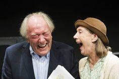 "Michael Gambon and Eileen Atkins in ""All That Fall"" by Samuel Beckett, Arts Theatre, London, November 2012 (Photo: Tristram Kenton)"