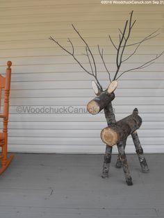 firewood,reindeer,logs - Emma Home Christmas Log, Christmas Wood Crafts, Outdoor Christmas Decorations, Christmas Projects, Reindeer Christmas, Reindeer Logs, Reindeer Craft, Reindeer Footprint, Reindeer Drawing