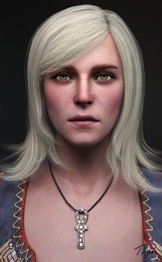 Keira Metz Portrait by Toyen-Art