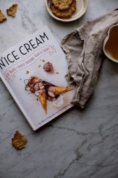 """Roasted Vegan Banana Cacao Nib Ice Cream from """"N'Ice Cream"""" + Crazy for Connection @ www.earthsprout.com"""