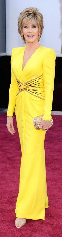 Jane Fonda at the 2013 Academy Awards - Versace