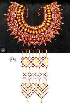 Jewellery Travel Case half Bin Sabt Jewellery Dubai Exchange Centre one Hippie Jewelry Stores Near Me long Links Jewellery Near Me although Jewellery Box Travel Diy Necklace Patterns, Beaded Jewelry Patterns, Seed Bead Jewelry, Bead Jewellery, Jewellery Making, Weaving Patterns, Peyote Patterns, Beaded Crafts, Loom Beading