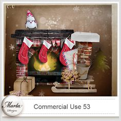 Commercial Use 53::10/12 - Wonderful Wednesday::Memory Scraps {CU}