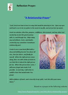 How to Pray for Love When You re Single