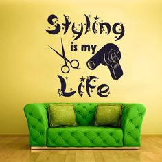 Wall Vinyl Sticker Decals Decor Haircut Salon Scissors Styling Is My Live Dryer Scissors Hair Salon (Z921) StickersForLife,http://www.amazon.com/dp/B00DOC4CT6/ref=cm_sw_r_pi_dp_0H7Qsb0RW4NFS6NJ