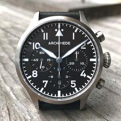 Pilot Chronograph Tricompax