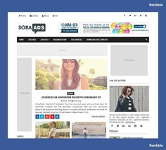 Sora Ads – Free #Blogger Template Blogger Templates, Sora, Seo Services, Search Engine, Layout, Ads, Celebrities, Free, Page Layout