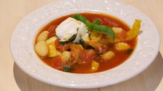 Zuppa di pomodori (met gnocchi) - recept | 24Kitchen