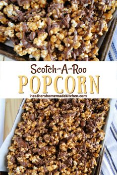 Snack Mix Recipes, Candy Recipes, Cooking Recipes, Snack Mixes, Sweet Popcorn Recipes, Popcorn Crack Recipe, Dessert Recipes, Moose Munch Popcorn Recipe, Microwave Popcorn