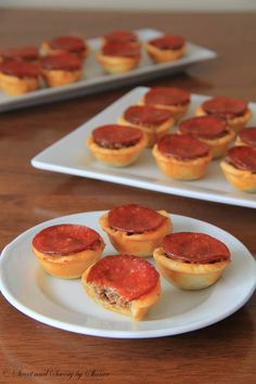 Mini Pizza Tartlets ~Sweet and Savory by Shinee