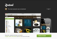 Zootool, social visual inspirations. http://zootool.com/