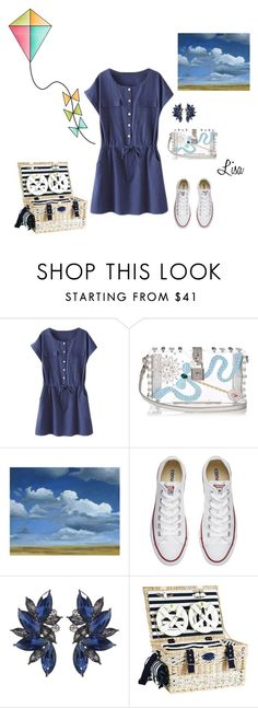 """GO Fly a Kite!"" by coolmommy44 ❤ liked on Polyvore featuring Dolce&Gabbana, Grandin Road and Converse"