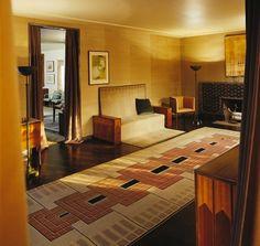 Eliel Saarinen's Masterpiece House at Cranbrook Academy of Art