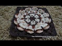 TRICO y CROCHET-madona-mía: Flores em croche-em portugues