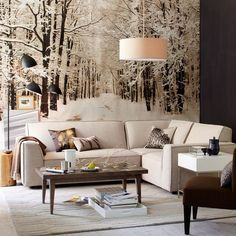 Usually, there is a wide form of interior design this winter. If you want to do interior design for a cheap price, you should start with a very good plan. This type of interior design is very suita… Winter Living Room, Home And Living, Living Room Decor, Living Spaces, Living Modern, Decor Room, Cozy Living, Small Living, Living Rooms