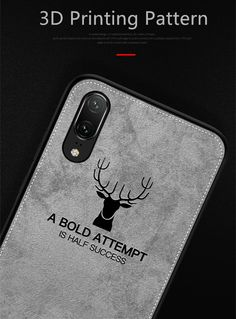 Slim Christmas Deer Cloth Phone Case For Huawei Mothers Day Presents, Christmas Deer, Phone Cover, 9 And 10, Best Gifts, Slim, Retro, Stuff To Buy, Clothes