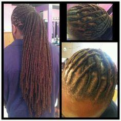 I think im liking this. Dreadlocks Men, Dreadlock Rasta, Blonde Dreadlocks, Dreadlock Styles, Dreads Styles, Dreadlock Hairstyles For Men, Dope Hairstyles, Wedding Hairstyles, Ciara Hair