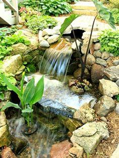 Cascade et  fontaine de jardin , 69 déco pour les moments de relaxe - jardiland-fontaine-de-jardin-pierre