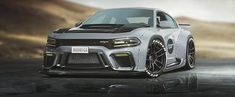 Widebody Dodge Charger Hellcat Rendered As the Coupe Dodge Needs to Build - autoevolution