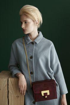 Irina Small Saddle Bag #LUMIFW13collection