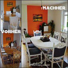 Stühle Streichen tisch und alte stühle neu gestalten und verschöneren streichen