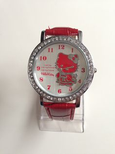 HELLO KITTY WATCH RED