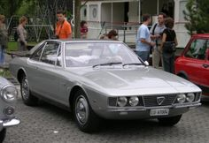 1969 LANCIA MARICA BERLINETTA CONCEPT - designed by Tom Tjaarda at Carrozzeria Ghia of Turin.