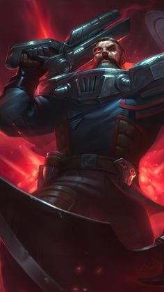 Dreadnova Gangplank Skin android, iphone wallpaper, mobile background
