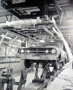 Dodge assembly line 1968