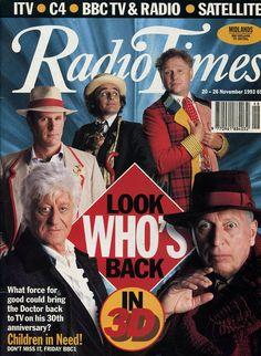 Radio Times Doctor Who 30th Anniversary Issue - Retronaut