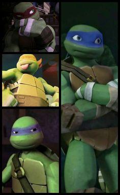 It's Leonardo.he's reached CRITICAL SASS! Seriously tho, that whole episode was Leo sassing off. Tmnt 2012, Ninja Turtles Art, Teenage Mutant Ninja Turtles, Sailor Mars, Sailor Venus, Pokemon Fusion, Soul Eater, Turtle Facts, Homestuck