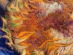 Vincent van Gogh, Girasoli 1887 (particolare)
