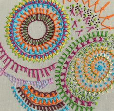 knotted buttonhole stitch by Kay Susan