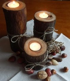 DIY Winter centerpieces | pinned by Western Sage and KB Honey (aka Kidd Bros)