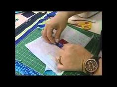 Capa Tablet/Notebook em Log Cabin:Patchwork Ana Cosentino(Ateliê na Tv) - YouTube