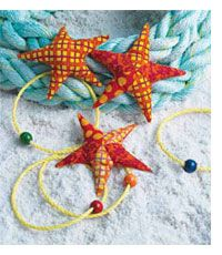 Free Easy Sewing Pattern for Starfish Beanbags