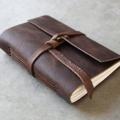 Leather Journal  | dotandbo.com #DotandBoDream