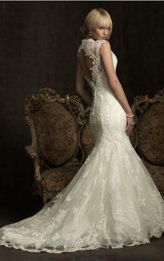 elegant wedding gowns | Home > Bride > Elegant wedding dresses > 2013 Miss Mermaid gorgeous ...