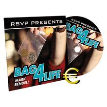 Bag4Life (DVD and 1 Euro Coin) by Mark Bendell and RSVP - DVD