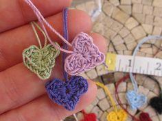 Tiny Heart Appliques
