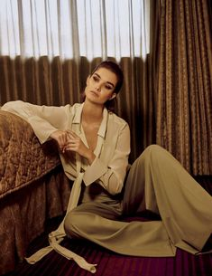 Looking pretty in pastels, Ophelie Guillermand graces the pages of Vogue Mexico's January 2018 issue. The French model poses in colorful looks from the res