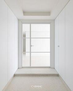 Home Entrance Decor, Entrance Foyer, House Entrance, Home Decor, Door Design, House Design, Home And Living, Living Room, Windows And Doors