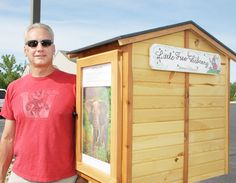 Theodosia retirees build Little Free Library boxes for area