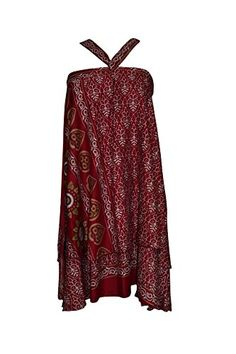 Women's Beach Wraps Skirt Maroon Printed Premium Silk Sar... https://www.amazon.com/dp/B01NCZBHBA/ref=cm_sw_r_pi_dp_x_KVDXybXJ4JJWW