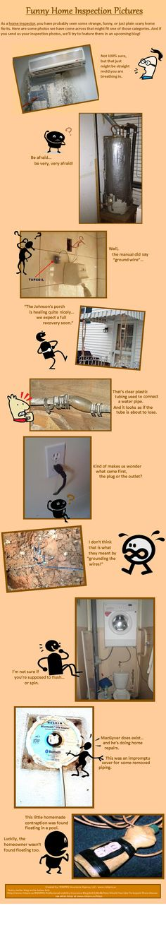 Funny pictures from Home Inspections