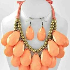 I just discovered this while shopping on Poshmark: Necklace Set. Check it out!  Size: OS